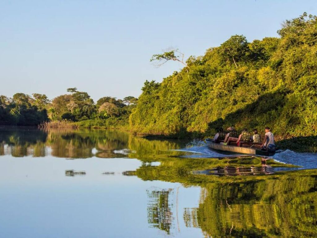 Conheça paisagens deslumbrantes na Pousada Aguapé. Foto: Visit Pantanal